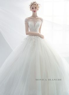 Tips, tricks, furthermore manual in pursuance of receiving the best end result as well as attaining the maximum utilization of Wedding Theme Ideas Wedding Dress Necklines, Necklines For Dresses, Wedding Dress Sleeves, Wedding Dresses 2018, Wedding Attire, Bridal Dresses, Wedding Dress Buttons, Marie, Ball Gowns