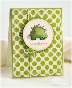 Super cute card using PTI's Tremendous Treats:Valentine