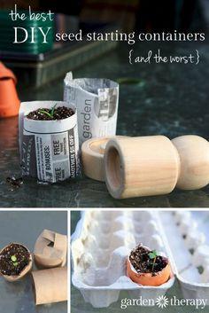 DIY Seed starting co