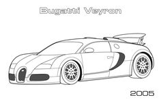 Sports Cars Coloring Pages - Bing images