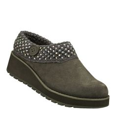 Loving this Gray Suede Diamond Sky Visioneers Clog on #zulily! #zulilyfinds