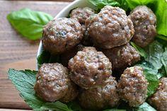 Basil Mint Lamb Meatballs   Lichen Paleo Loving AIP