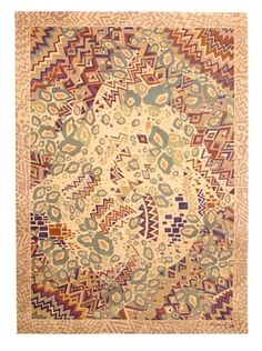 """Missoni Hand Knotted & Hand Carved Rio Soft Rug, Multi, 5' 7"""" x 7' 10"""""""