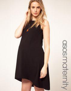 ASOS Maternity Swing Dress With Dipped Hem