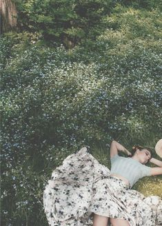 Lazing in a beautiful park.xx