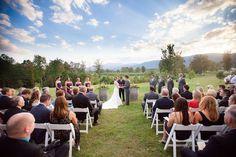 Gorgeous fall vineyard wedding-- Ashley + Ryan at Veritas