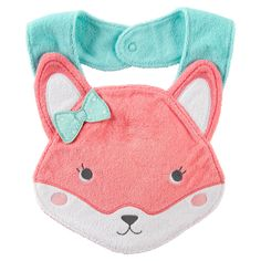 Fox Terry Teething Bib