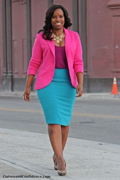 Curves and Confidence | Inspiring Curvy Fashionistas One Outfit At A Time: Inspiration Recreation: Vol II