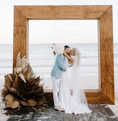 This Tulum wedding was the best of boho and modern minimalist wedding design. The bride wore a silk crepe gown and the decor featured bold, beachy style. Hawaiian Wedding Themes, Beach Groom, White Bridesmaid Dresses, Bridesmaids, Wedding Dresses, Modern Minimalist Wedding, Wedding Ceremony Backdrop, Layout, Rustic Lighting