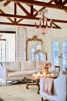 Weekend View - French Country Cottage French Country Living Room, French Country Cottage, French Country Style, French Country Decorating, Country Cottages, Cottage Decorating, Cottage Ideas, French Decor, Cross Country