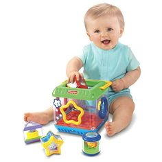 "Fisher-Price Peek-a-Blocks: Shape Sorter - Fisher-Price - Toys ""R"" Us"
