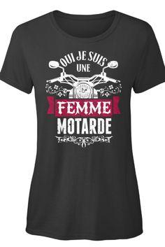 t-shirt femme motarde
