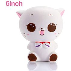 Trend Mark Kawaii Cat Sushi Slow Rising Scented Squeeze Relieve Stress Toy Kids Toys Hand Squeeze Toy Stress Relief To Adopt Advanced Technology Toys & Hobbies