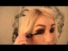 Halloween Makeup,Sexy Witch, Sarah Jessica Parker/Sarah Sanderson inspired,Hocus Pocus Film