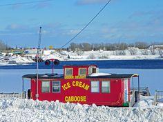 The Ice Cream Caboose of Little Bras d'Or_Cape Breton Island http://www.scoop.it/t/cape-breton-island-news-views
