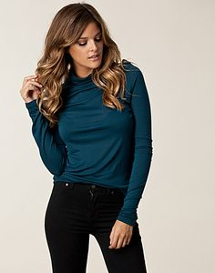 TOPPER - ONLY / GEAR ORGANIC FUNNEL NECK TOP - NELLY.COM