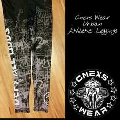 Cnexs Wear Urban Athletic Leggings! The first in several products with our playful and fun Urban design, these leggings feature fun scribbles, sketches and graffiti. Unisex, durable and so comfortable  you'll want to sleep in them! ☆☆☆☆▪☆☆☆☆ #wrestling #leggings #active #athleticwear #fitness #train #bbj #muaythai #gym #mma #nogi #grappling #running #gymwear #compression #spats #workout #yoga #training #boxing #weighttraining #weightlifting #fashion #martialArts #ufc…