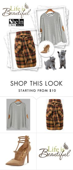 """""""Untitled #10"""" by moda030 ❤ liked on Polyvore featuring WithChic, Faith Connexion, Sam Edelman and Brewster Home Fashions"""