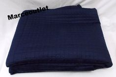 Hudson Park coverlet in Marine Blue. $270 at Bloomingdales, but I bought it for $67 on ebay.