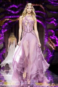 Versace Fall 2015 Haute Couture Runway