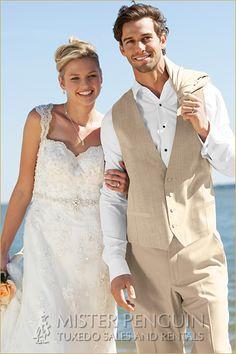 wedding suit beach - Google Search