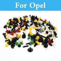 200pcs Car Plastic Cable Mount Clamp Clips Auto Wire Tie For Opel Cascada Corsa Opc Gt Adam Agila Ampera Antara Astra Opc #Affiliate