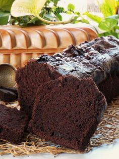 Plumcake all'acqua cioccolato e fondi di caffè 2