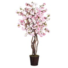 Vickerman TDX4865-07 Cherry Blossom Deluxe Tree, 6.5', Pink * Be sure to check out this awesome product.