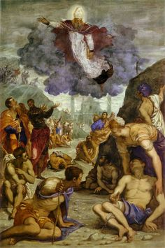 Tintoretto - Saint Augustine Healing the Lame