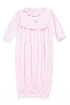 Kissy Kissy | Kissy Kissy 'Heart' Pima Cotton Gown (Baby Girls) | Nordstrom Rack