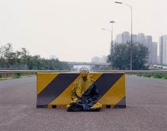 Liu Bolin Hide in the City