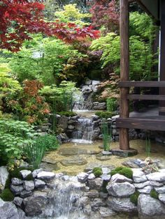 Image Result For Japanese Water Garden