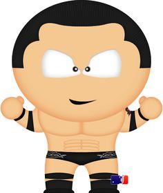 Wade Barrett by spwcol on DeviantArt South Park Wrestling, Ecw Wrestling, Wade Barrett, Sport Of Kings, Wwe Champions, Brock Lesnar, Favorite Pastime, Professional Wrestling, Tigger