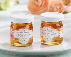 Personalized Clover Honey - Botanical (Set of 12)