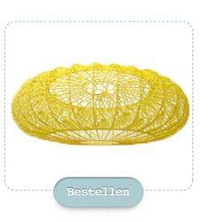 Crochet Lampshade.  Home | Scaapi | Vilt & Breigoed