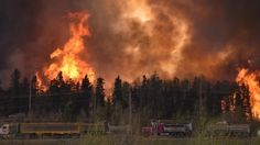 Provincial wildfire investigators say the Fort McMurray wildfire was most likely the result of 'human activity.'