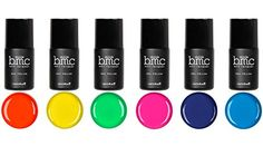 BMC 6pc Bright and Loud Cream Gel Lacquer Polishes  Neon Wasteland Master Set -- Click on the image for additional details.