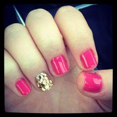 manicure, nails, glitter