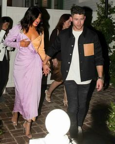 Priyanka Chopra and Nick Jonas Amazon Studios Gully Boy CAA Tastemaker film screening in LA Priyanka Chopra Wedding, Nick Jonas, Amazing Ideas, Studios, Sari, Film, Amazon, Boys, Cute