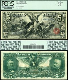 Educational Series note. What US currency used to look like. This note now sells for about $5000.
