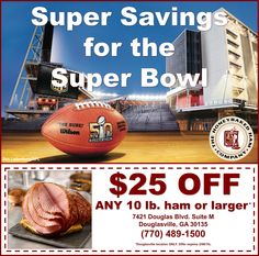 Save big this weekend with this incredible coupon from our HoneyBaked Ham Douglasville crew! Ham Store, Honey Baked Ham, Baking With Honey, Coupons, Side Dishes, The Incredibles, Big, Recipes, Coupon