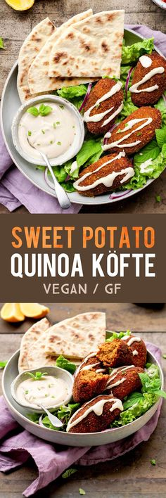 Sweet Potato Quinoa Köfte