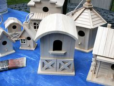 Decorate a Fence With Birdhouses - on HGTV