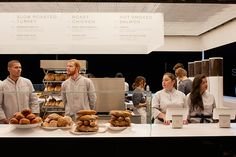 ole scheeren on 'stage' for dean & deluca at design miami/