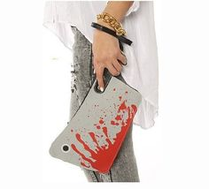 Of Wonders Cell Phone Bags with Detachable Lanyard/leash and Wristlet Bloody Cleaver Clutch Purse by Of Wonders, http://www.amazon.com/dp/B00DA9J1DA/ref=cm_sw_r_pi_dp_X5H5rb0D8TQVZ