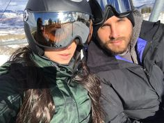 Kourtney Kardashian and Scott Disick spent one of the last days of 2016 teaching their oldest son Mason how to ski and messing around on the slopes of Aspen.