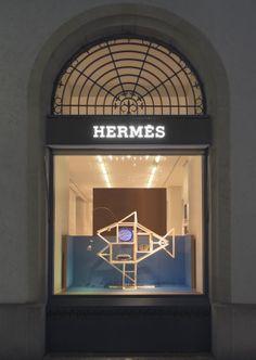 ECAL - EVENEMENTS - EXPOSITIONS - Collaboration ECAL/Hermès (vitrines pour les magasins de Genève et Zurich)