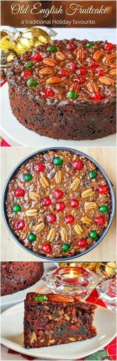 Inspired By My Newfoundland Upbringing This Dark Old English Fruitcake With Roots In The Uk