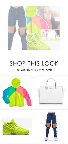 """""""The Borough x Dwayne Kyng ft. Corey Nyell"""" by queenswag245 ❤ liked on Polyvore featuring Michael Kors and NIKE"""