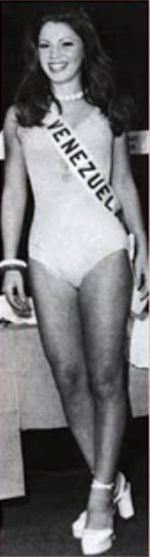 Miss Venezuela - Maria Antonieta Campoli en Miss Universe 1972..